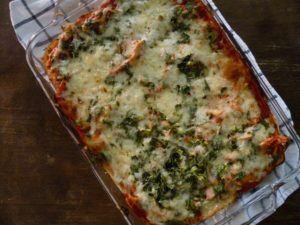 Enchilada Lasagna - At Dana's Table