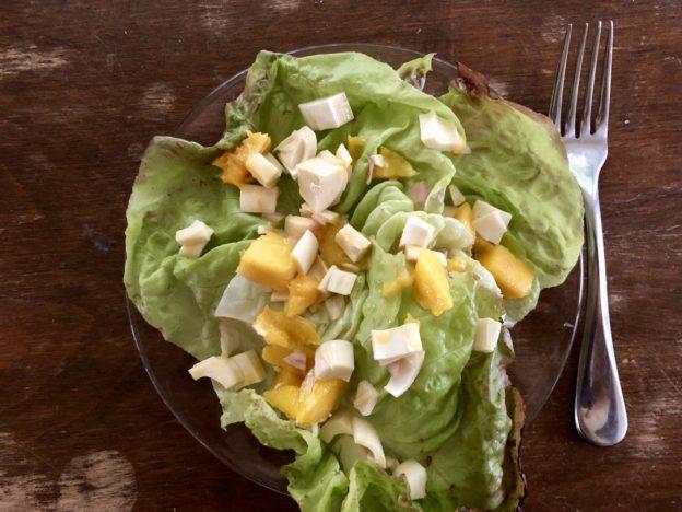 Mango and Hearts of Palm Salad with Lime Vinaigrette